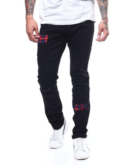 Crysp - Rivera Plaid Patch Jean