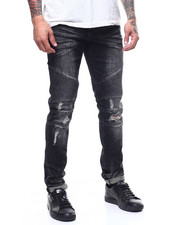 Crysp - Skywalker Faded Black Moto Jean-2308153