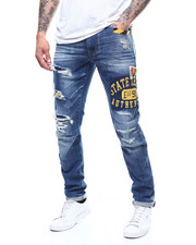 Slim - Collegiate Patched Slim Jean-2308107