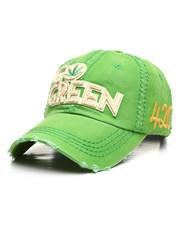 Men - Vintage Go Green Leaf Dad Hat-2308345