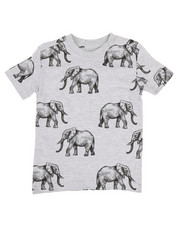 Boys - All Over Elephant Print Jersey Tee (2T-4T)-2308355