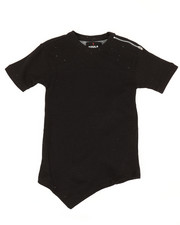 Boys - French Terry Cut & Sew Crew W/ Holes and Shoulder Zip (8-20)-2308269