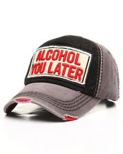 Men - Vintage Alcohol You Later Hat-2308333