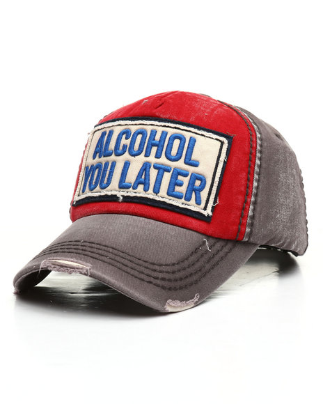Buyers Picks - Vintage Alcohol You Later Hat