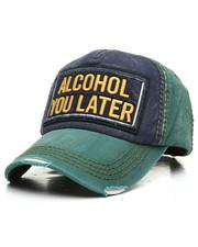 Men - Vintage Alcohol You Later Hat-2308332