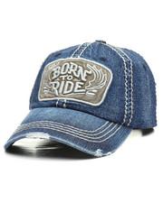 Men - Vintage Born To Ride Dad Hat-2308325