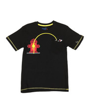 Boys - Hydrant Print Tee (8-20)-2308430