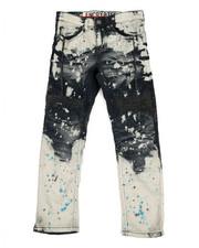 Boys - Paint Splatter Moto Jeans (8-20)-2308470
