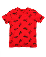 Arcade Styles - All Over Scorpion Print Jersey Tee (2T-4T)-2308494