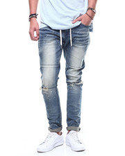 Slim - Drawstring Slim Tapered Jean-2308978