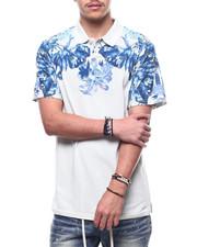 Shirts - Grey Floral Pique polo-2308856