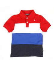 Boys - Color Block Polo (2T-4T)-2308642