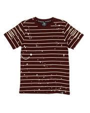 SWITCH - Basic Striped Tee w/ Razor Slash Sleeves (8-20)-2308768