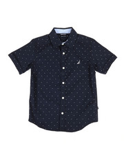 Nautica - Stretch Allover Print Shirt (8-20)-2308523