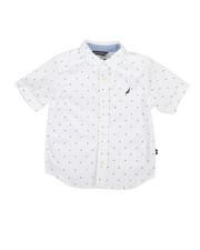 Boys - Stretch Allover Print Shirt (2T-4T)-2308514