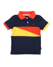 Boys - Color Block Polo (2T-4T)-2308633