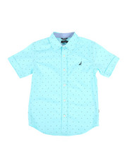 Nautica - Stretch Allover Print Shirt (8-20)-2308619