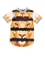 Boys - Sublimation Printed Tee w/ Chenille Patch (8-20)-2308753
