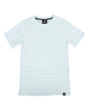 SWITCH - Basic Striped Tee w/ Razor Slash Sleeves (8-20)-2308783