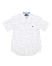 Nautica - Stretch Allover Print Shirt (8-20)-2308609