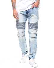 Slim - ACID WASH MOTO JEAN-2309328