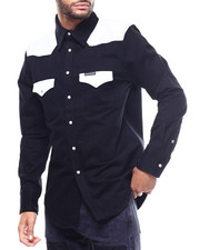 BLVCK - FOUNDATION WESTERN COLOR BLOCK WOVEN-2307893