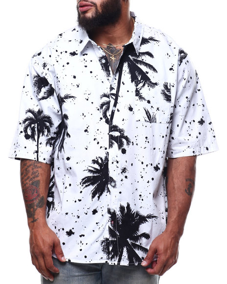 Buyers Picks - Palm Tree Print Woven Shirts (B&T)
