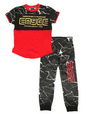 Enyce - Graphic Tee & Jogger Pants Set (8-20)-2308510