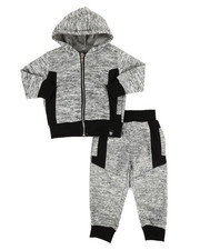 Boys - 2Pc Hoodie & Jogger Set (2T-4T)-2308739