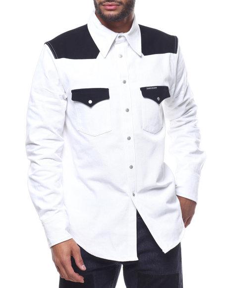a5236960 Buy CK BLOCKED FOUNDATION WESTERN SHIRT Men's Shirts from Calvin ...