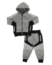 Boys - 2Pc Hoodie & Jogger Set (2T-4T)-2308698