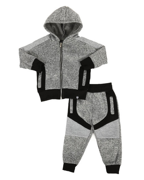 Arcade Styles - 2Pc Hoodie & Jogger Set (2T-4T)