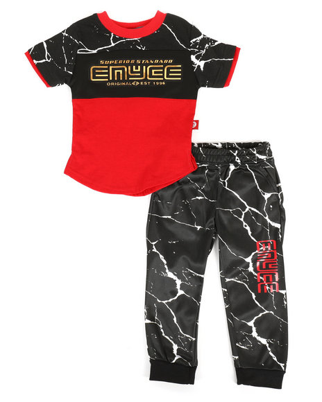 Enyce - Graphic Tee & Jogger Pants Set (Infant)