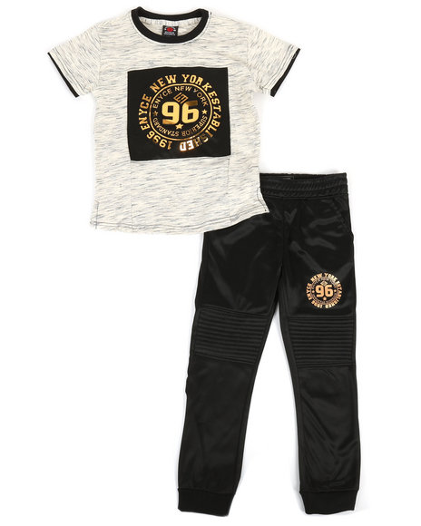 Enyce - Graphic Tee & Jogger Pants Set (4-7)
