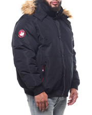 Big & Tall - Parka Bomber Jacket (B&T)-2308255
