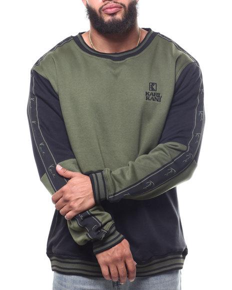 Karl Kani - L/S Color Block Sweatshirt (B&T)