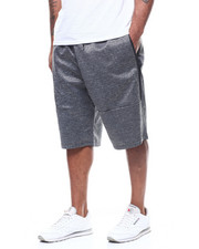 Big & Tall - Marled Tech Fleece Shorts (B&T)-2307938