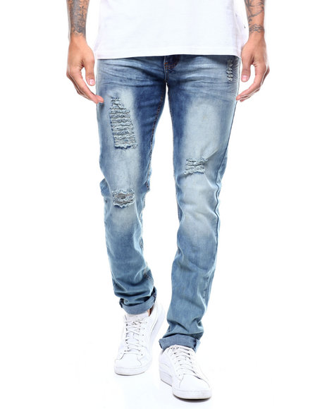 Buyers Picks - CLOUD WASH RIP AND REPAIR JEAN