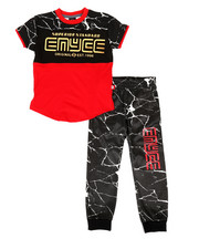 Enyce - Graphic Tee & Jogger Pants Set (4-7)-2308506