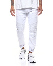Slim - Moto Twill Pant w Splatter Paint-2309366