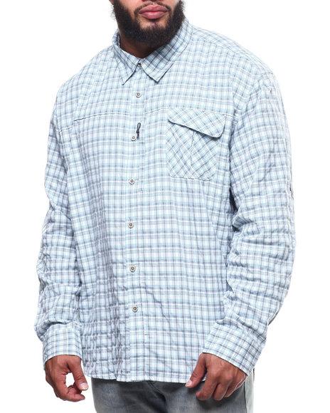 Wrangler - Plaid L/S Material Shirt  (B&T)