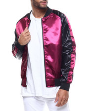 Outerwear - Satin Souvenir Jacket-2309430
