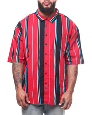 Big & Tall Faves - Striped Woven Shirts (B&T)-2307913