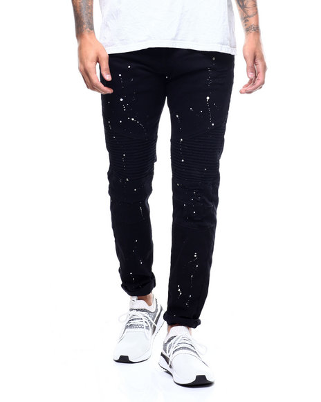 Buyers Picks - Moto Twill Pant w Splatter Paint