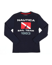 Nautica - Long Sleeve Graphic Tee (8-20)-2309031