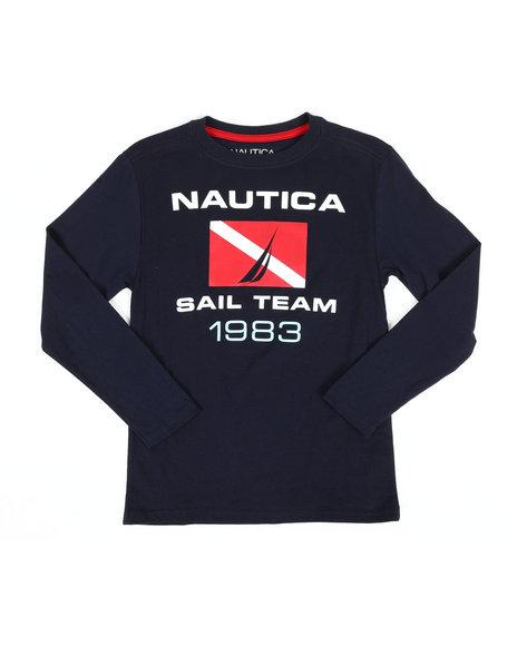 Nautica - Long Sleeve Graphic Tee (8-20)