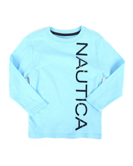 Nautica - Long Sleeve Graphic Tee (4-7)