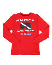 Nautica - Long Sleeve Graphic Tee (8-20)-2309036