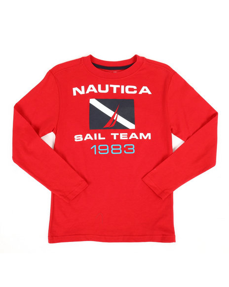 Nautica - Long Sleeve Graphic Tee (8-20)