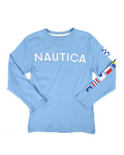 Nautica - Long Sleeve Graphic Tee (8-20)-2309016